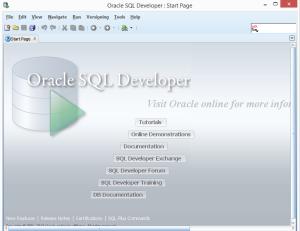 Start SQL Developer
