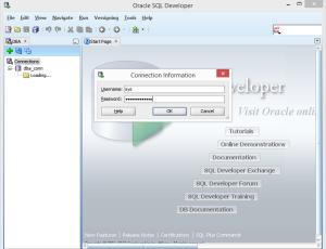 Open View Menu and Option DBA