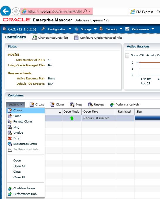 76% increase of developer's productivity with  Oracle EM12c, Enterprise Manager Database Express 12c (3/6)