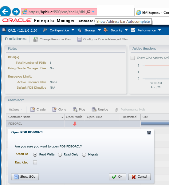 76% increase of developer's productivity with  Oracle EM12c, Enterprise Manager Database Express 12c (5/6)