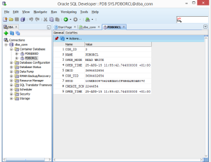 PDB status is OPEN in Read Write mode