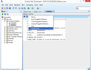 Modify PDB state From Close To Open