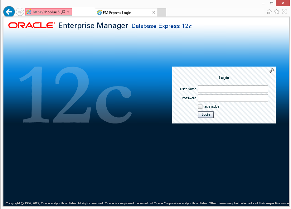 EM12c comes to the rescue when you need a Tablespace for the new Application (1/6)