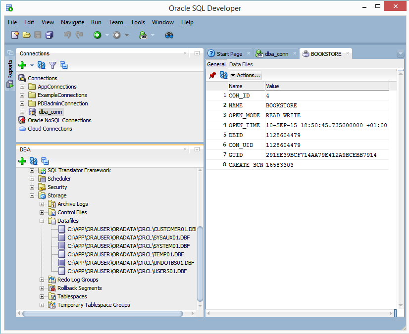 Create Pluggable Database using the seed database as a template (2/6)