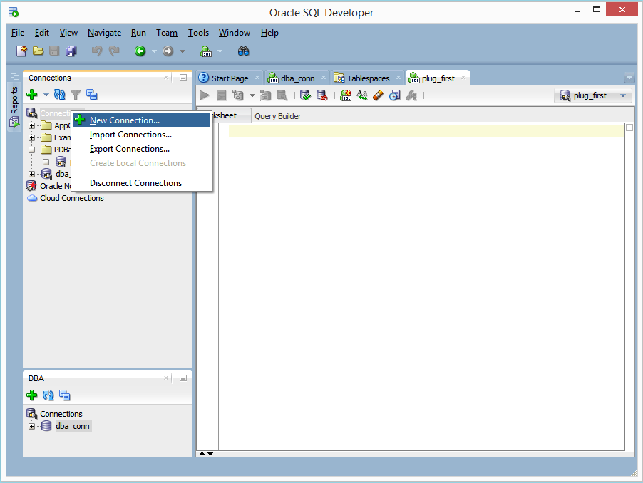 Create Pluggable Database using the seed database as a template (4/6)